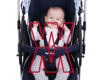 雙重W型寬幅式座椅