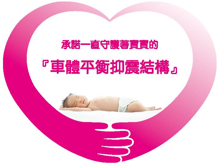 赤ちゃんを守るこだわりの、ゆれない・ぐらつかない「ゆれぐらガード」。